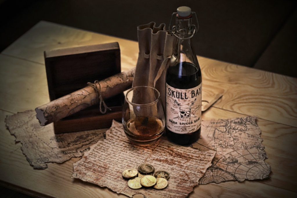 Review: Skull Bay Rum Spiced is cheap, sweet and tasty, try it!