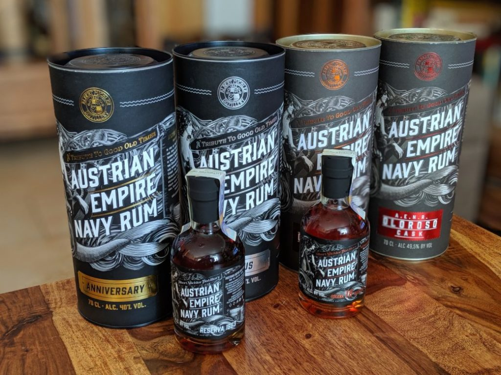 "What are the ""Czech"" Austrian Empire Navy rums like?"