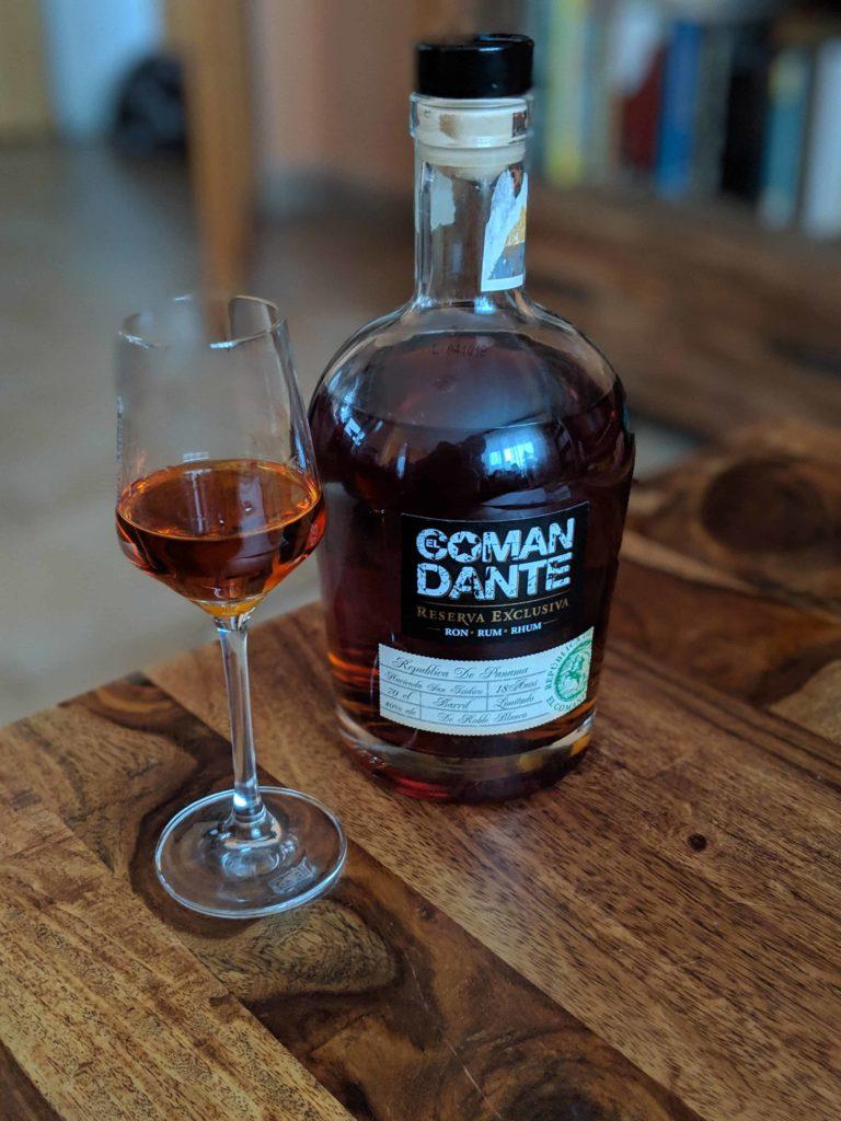 Czech ComanDante Reserva Exclusiva rum by Bartida
