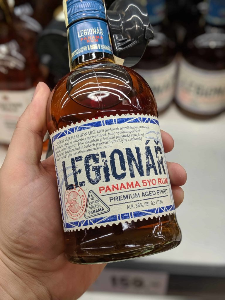 Legionář – The Czech-made Panama rum