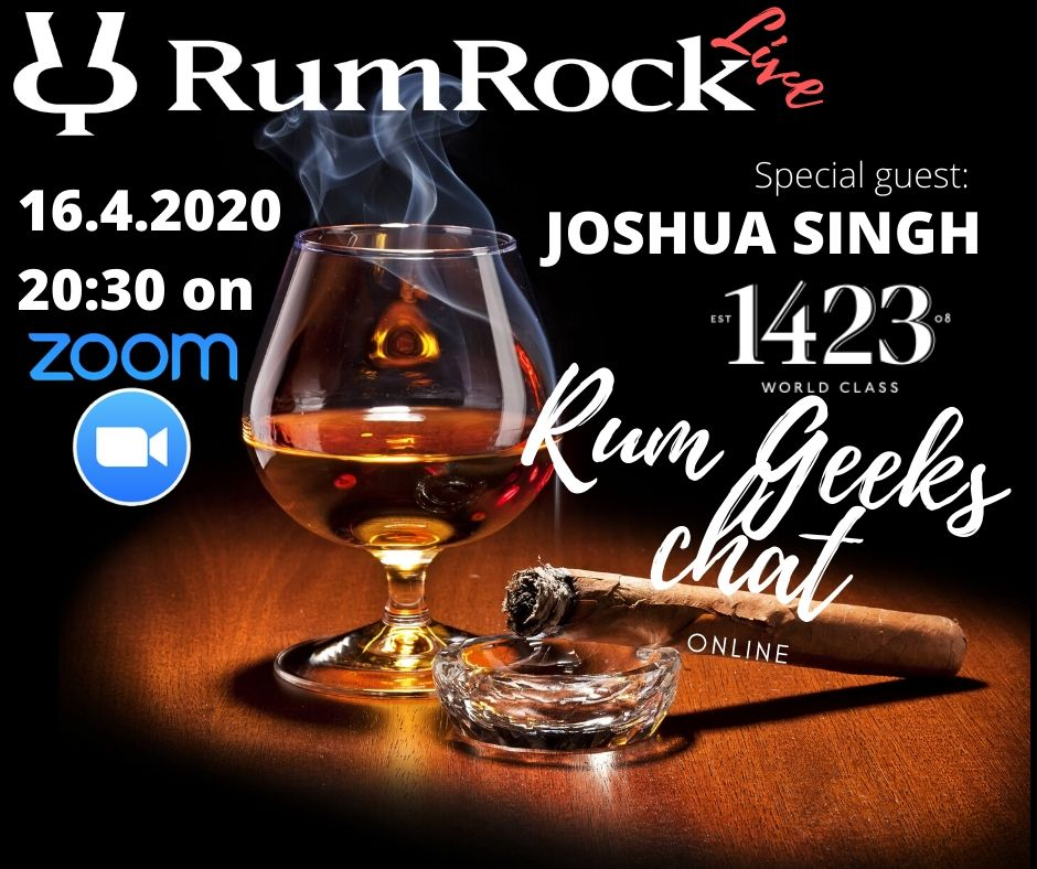 RumRock Live 16. April – 2020 – online [czech/english]